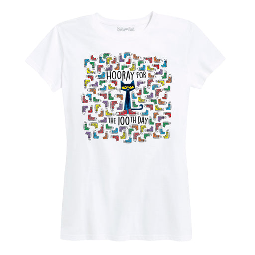 PTC 100Th Shoes Ladies Short Sleeve Classic Fit Tee