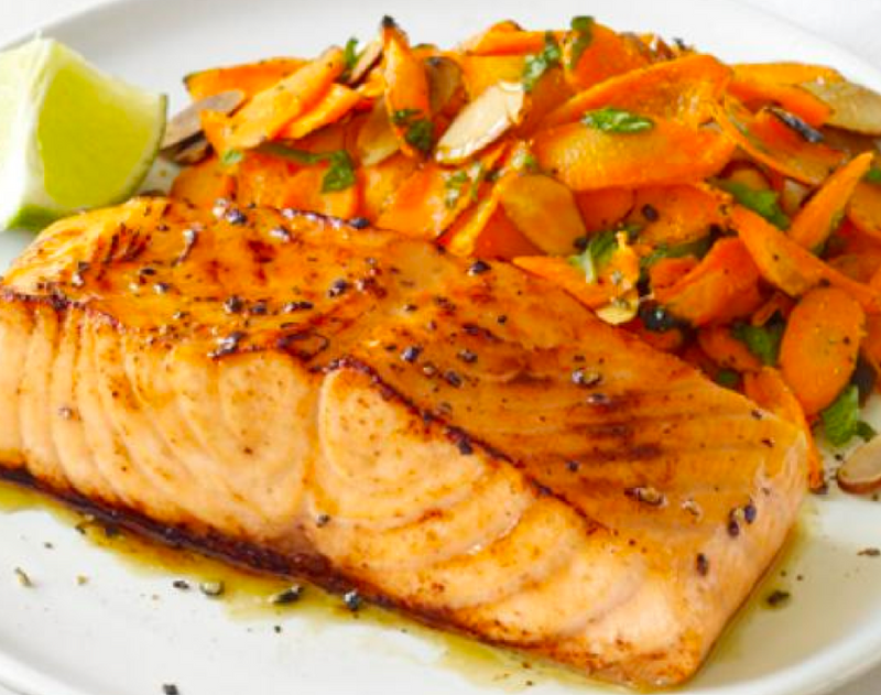 KosherBox® Passover Meal: Salmon with Potatoes & Carrots