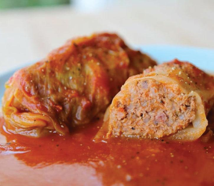 KosherBox®- Beef Stuffed Cabbage In Gravy