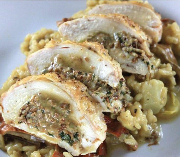 KosherBox® - Stuffed Chicken With Rice & Mushrooms