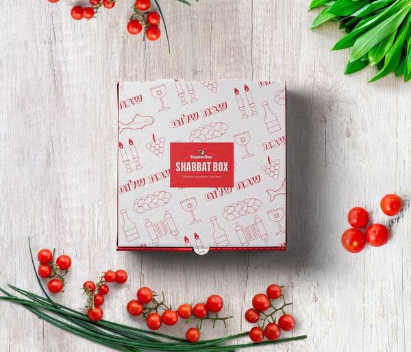 Shabbat Box™ - Your Entire Shabbat In A Box (Shabbat Meals & Everything You Need For Shabbat)
