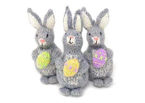 Bunny with Egg Ornaments