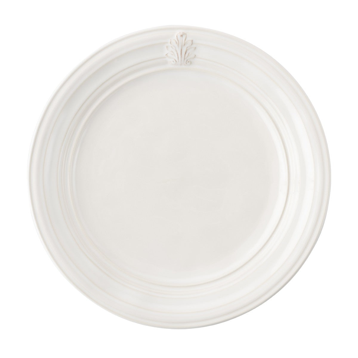 Acanthus Dinner Plate Whitewash