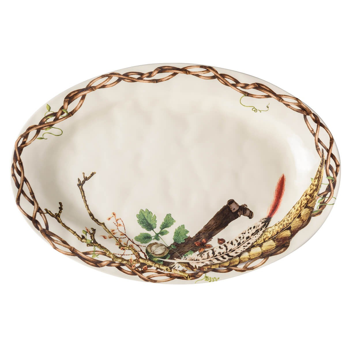 "Forest Walk 21"" Oval Platter"