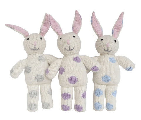 Bunnies with Pastel Spots