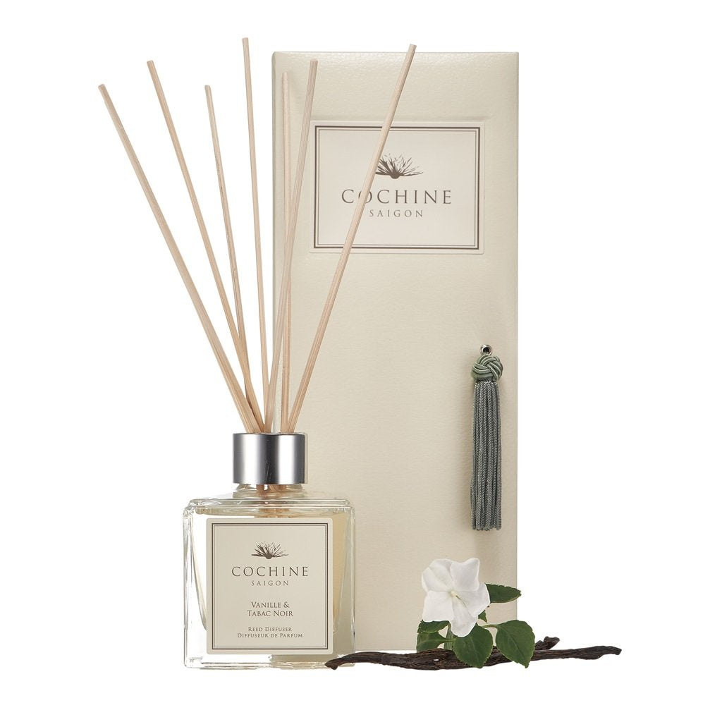 Reed Diffuser Vanille & Tabac Noir