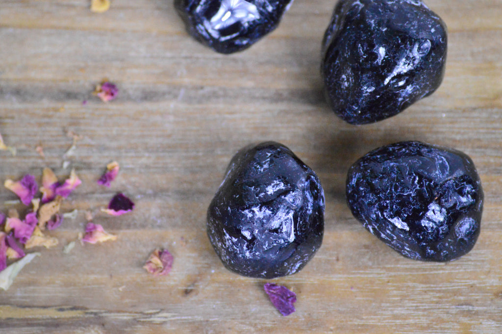 Apache Tear Stones for Grounding & Protection