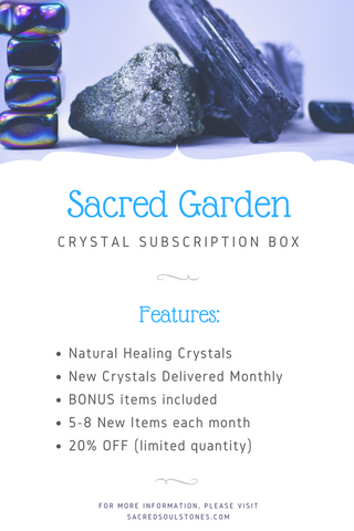 Crystal Subscription Box - Sacred Garden