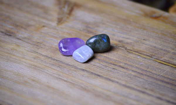 Aquarius Zodiac Crystal Set | Astrology Stone | Natural Gemstones Sacred Soul Stones
