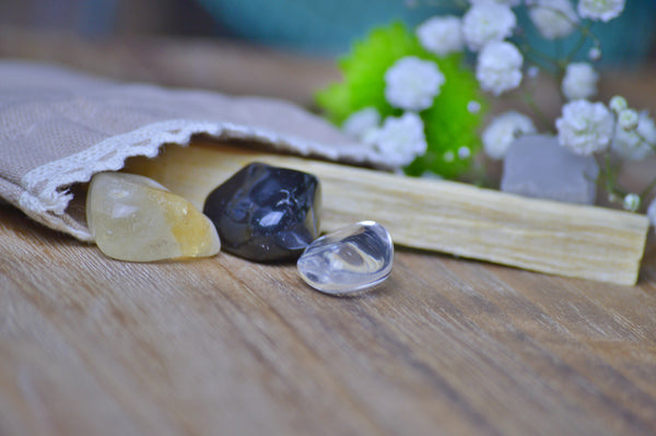 Aries Zodiac Crystal Set | Astrology Stone | Natural Gemstone Sacred Soul Stones