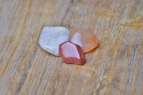 Cancer Zodiac Crystal Set | Astrology Stone | Natural Gemstone Sacred Soul Stones