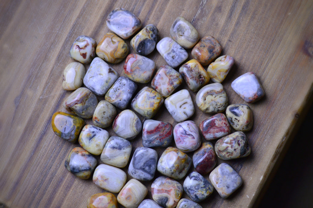 Crazy Lace Agate - The Laughter Stone Sacred Soul Stones
