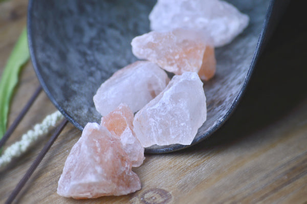 Rough Himalayan Pink Salt Crystal | Natural Himalayan Salt Chunks - Sacred Soul Stones