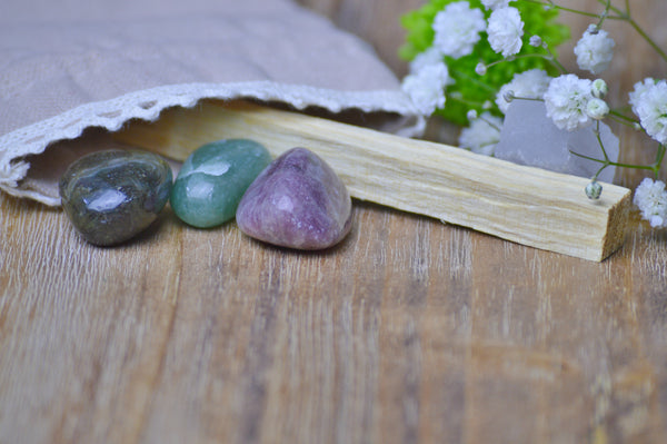 Libra Zodiac Crystal Set | Astrology Stone | Natural Gemstone Sacred Soul Stones