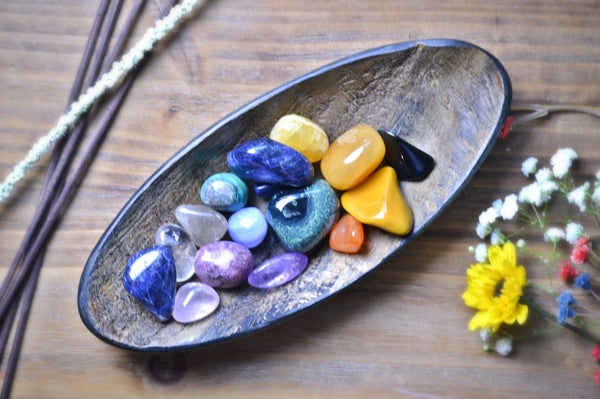 Assorted Tumbled Stone Healing Kit | Chakra Healing | Natural Gemstones - Sacred Soul Stones