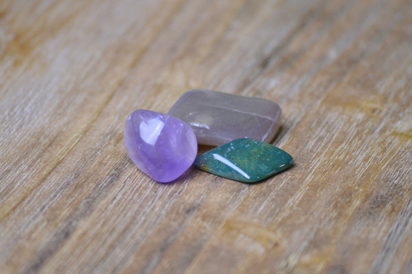 Pisces Zodiac Crystal Set | Astrology Stone | Natural Gemstones Sacred Soul Stones