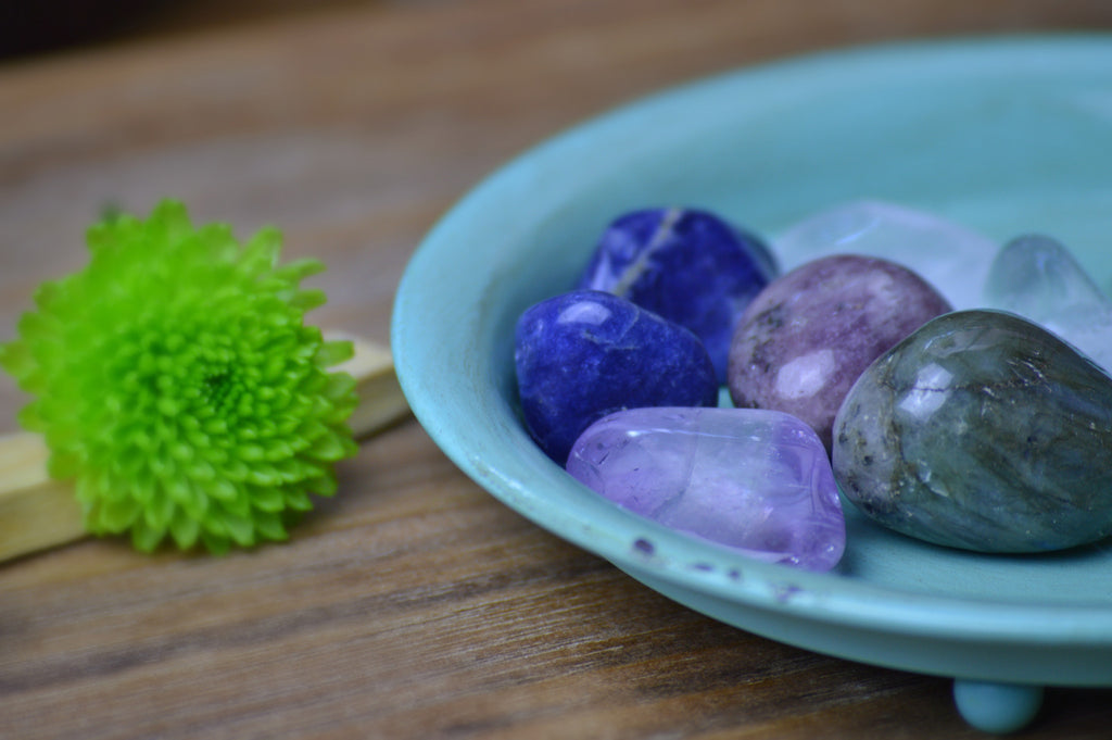 Upper Chakra Crystals for Intuition, Perception, & Peace of Mind | Healing Stones Sacred Soul Stones