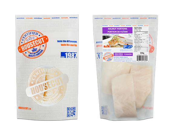 HALIBUT PORTIONS 340g IVP