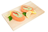 SALMON PINWHEELS SPINACH FETA 2pc x 6oz FROZEN