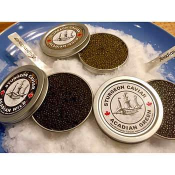 CAVIAR ACADIAN STURGEON WHITE LABEL 30g