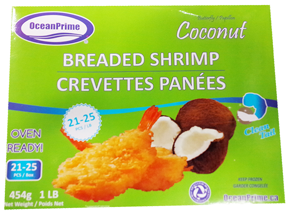 SHRIMP BREADED COCONUT 21-25 454g