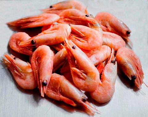 COOKED WHOLE PRAWNS COLDWATER SHRIMP 908g