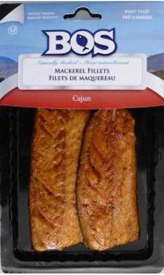 SMOKED MACKEREL CAJUN 170g