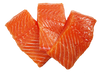 SALMON BY THE CASE 6oz PORTIONS 27 PCS