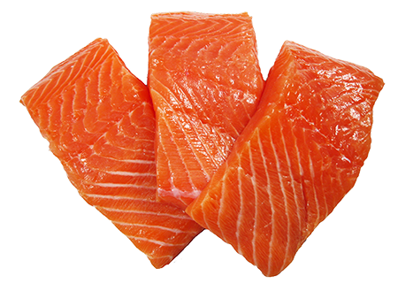 SALMON 4oz PORTIONS SKIN-ON FRESH