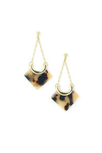 Libra Drop Earring