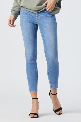 Tess Slit Hem Supersoft Denim