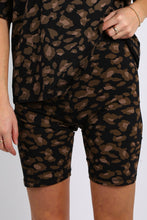 Leopard Bike Short