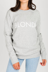Blonde Pullover