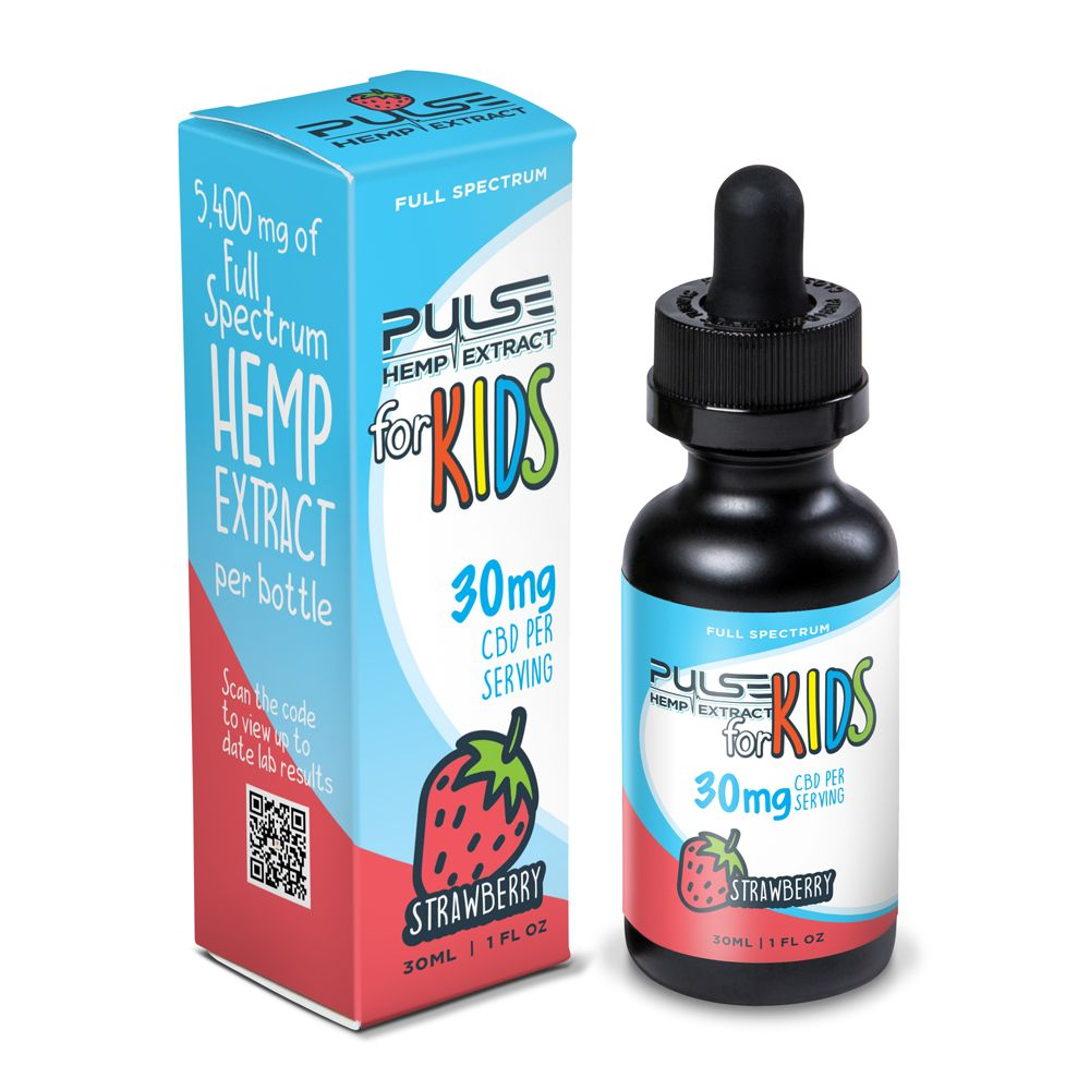 Pulse CBD Kids 5400mg - Strawberry