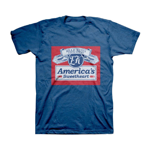 America's Sweetheart Beer Can Logo T-Shirt