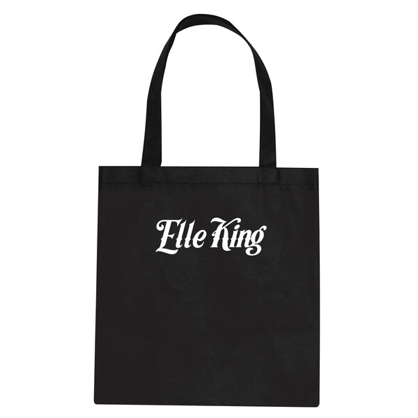 HAGTATT Black Tote Bag