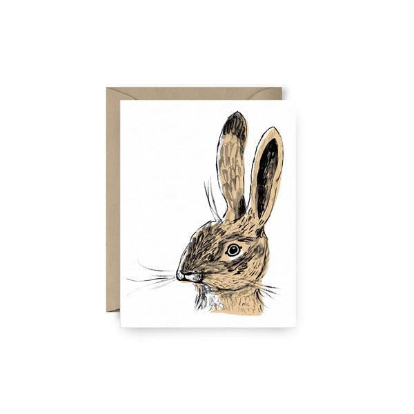 Leonard Rabbit Card