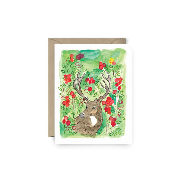 Horns & Apples Card