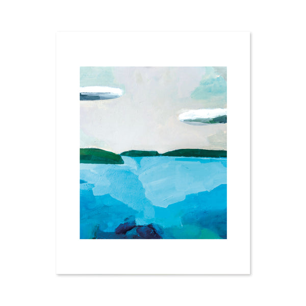 Puget Sound Waterscape Large Format Art Print