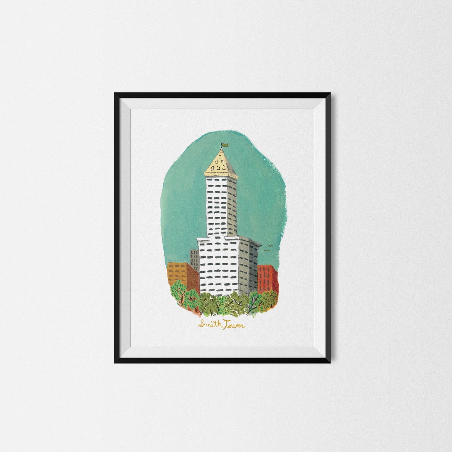 Smith Tower Art Print