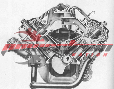 Chevrolet 454 Short Block Engine 13JC