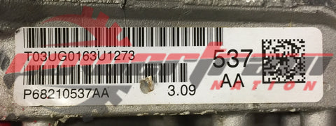 68210537AA Mopar Rear Axle Differential
