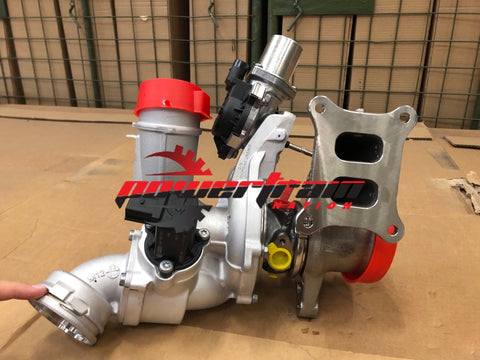 New OEM Jetta Beetle 2.0L MK6 Gen3 Turbocharger and Exhaust Manifold 06K145874