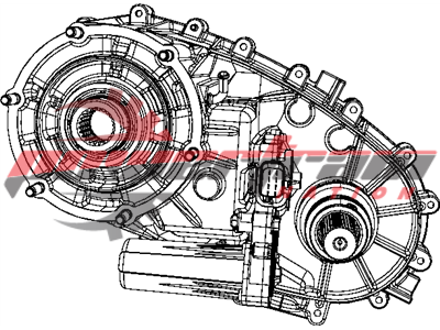 Dodge Ram Mopar Transfer Case DMT317-4M