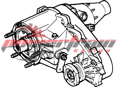 Dodge Ram Mopar Transfer Case DMT313-16