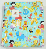 Babycuddle Blanket - Baby Dolls in Teal