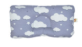 Babycuddle Head Pillow - Big Gray Clouds