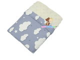 Babycuddle Blanket - Big Gray Clouds