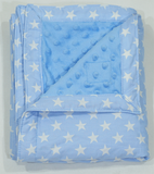 Babycuddle Blanket - Dotted Blue Star