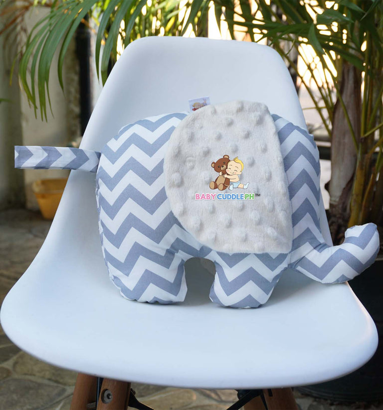 Elephant Bamse Chevron (Cream Ear)